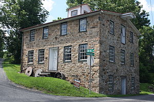 National Register of Historic Places listings in Berks County, Pennsylvania - Image: Bahr Mill 01