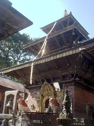 Sankhu Bajrayogini Temple - Vajrayogini Temple at Bajrayogini