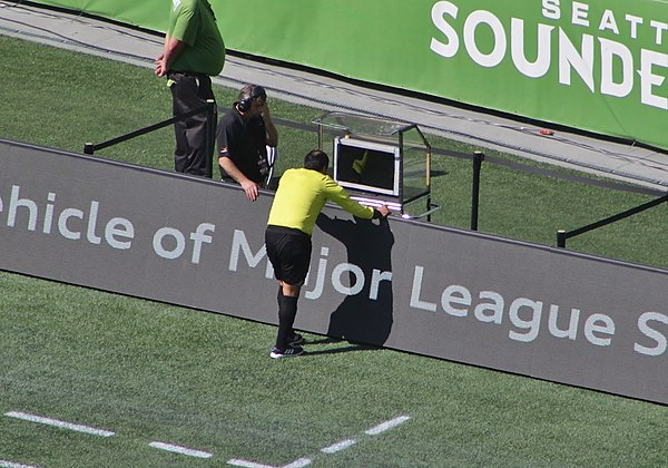 Baldomero Toledo checks VAR - Seattle Sounders vs. Sporting Kansas City