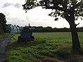 Bales, bowser and tree - geograph.org.uk - 999366.jpg