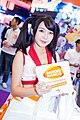 Bandai Namco promotional models, Taipei Game Show 20170124h.jpg
