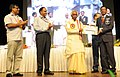 Bandaru Dattatreya presented the Vishwakarma Rashtriya Puraskar and National Safety Awards (performance Year 2013), at a function, in New Delhi. The Secretary, Ministry of Labour and Employment (1).jpg