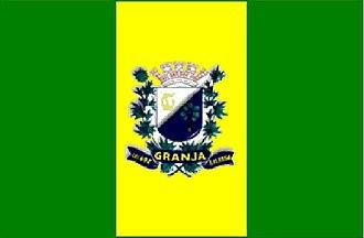 Granja, Ceará - Image: Bandeira Granja CE