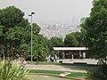 Barcelonne à partir du site olympique Montjuich - panoramio.jpg