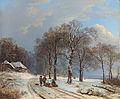 Barend Cornelis Koekoek, Winter Landscape, 1835-1838..jpg