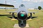 Barksdale Global Power Museum September 2015 43 (Mikoyan-Gurevich MiG-21F).jpg