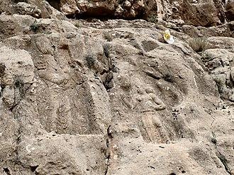 Barm-e Delak - Rock relief  Barm-e Dilak II