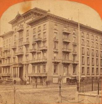 Cipriano Ferrandini - Barnum's hotel, Baltimore