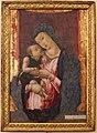 Bartolomeo vivarini, madonna col bambino, da collez. sanna 01.JPG