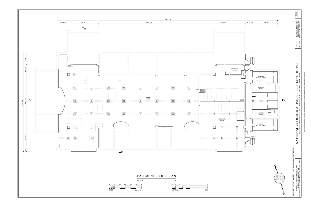 File basement floor plan national zoological park elephant house 3001 connecticut avenue nw for Who designed the basic plan for washington dc