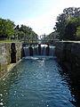 Bassanne, Gironde, canal latéral à la Garonne, dernière écluse (n° 50).JPG