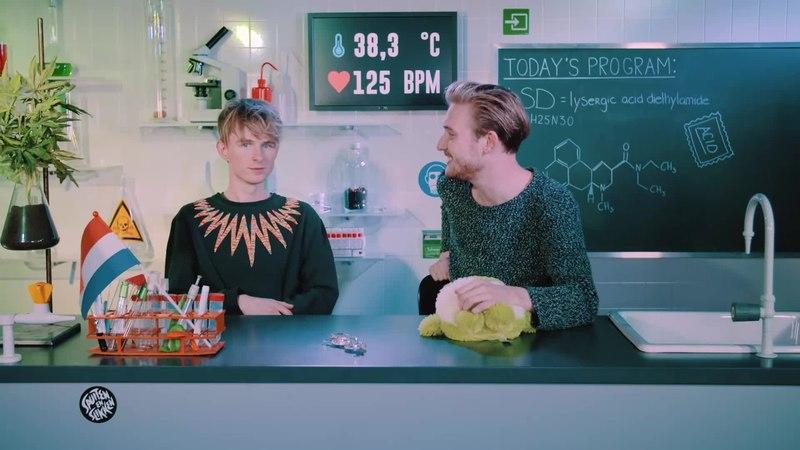 Bastiaan journeys balls on LSD (Acid)Drugslab