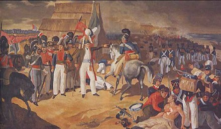 Spain fails to reconquer Mexico at the Battle of Tampico in 1829