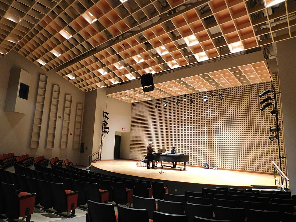 Bates College Concert Hall