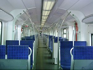DBAG Class 423 - Image: Baureihe 423 Fahrgastraum