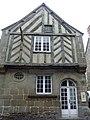 Bazouges-la-Pérouse (35) Maison ancienne, rue de l'église.jpg