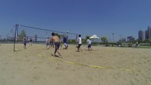 File:Beach volleyball in Korea 2014.webm