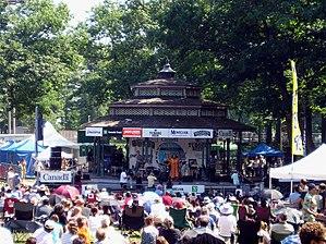 Beaches International Jazz Festival - A performance at the 2005 Beaches International Jazz Festival
