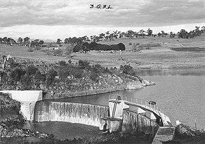 Beardy River - The Beardy River weir