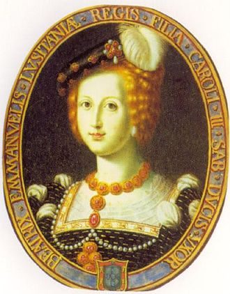 Beatrice of Portugal, Duchess of Savoy - Image: Beatrice of Portugal, Duchess of Savoy