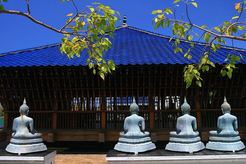 File:Beautiful Landmark in Colombo, Sri Lanka Buddhist-Temple.jpg