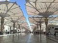 Beautiful View of Umbrella's of Masjid Nabvi, Madina Munawara - panoramio.jpg