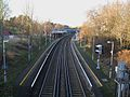 Beckenham Hill stn high northbound from road bridge.JPG