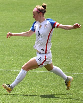Becky Sauerbrunn - Sauerbrunn with the United States Women's National Team in 2016