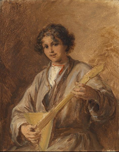 File:Beer, Russian boy with balalaika.jpg