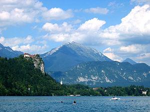 Begunjščica - Begunjščica from Bled
