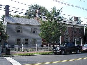 Belcher-Ogden Mansion-Price, Benjamin-Price-Brittan Houses District - The Belcher-Ogden Mansion in the fall of 2011