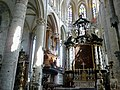 Belgique Gand Saint-Nicolas Choeur Orgues - panoramio.jpg