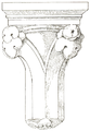 Belmont Abbey Loggia Right Capital Camille Enlart 1921.png