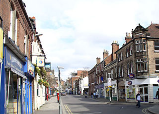 Belper town and civil parish in Amber Valley, Derbyshire, England