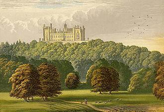 Belvoir Castle - Belvoir Castle in the late 19th century