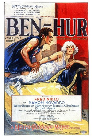 English: Ben-Hur (1925) film poster.