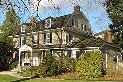 Ben West birthplace Swarthmore PA obl.JPG