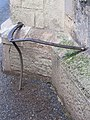 Bench mark on the corner - geograph.org.uk - 1706665.jpg