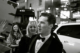 The Hobbit: The Desolation of Smaug - Benedict Cumberbatch at the Los Angeles premiere of the film.