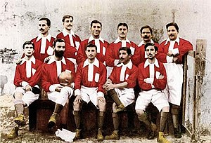 S.L. Benfica - The first Benfica team, in 1904