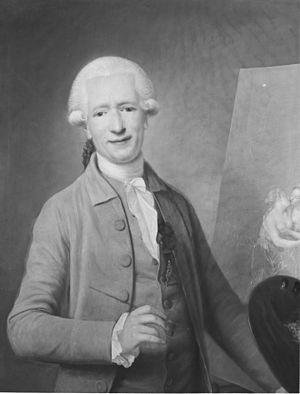Benjamin Samuel Bolomey - Selfportrait