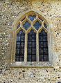 Berden St Nicholas exterior - 13 north trancept east window.jpg