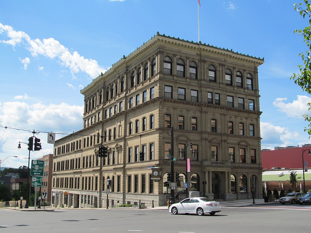 File berkshire life insurance company building pittsfield for The berkshire