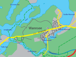 Mapa do Wannsee