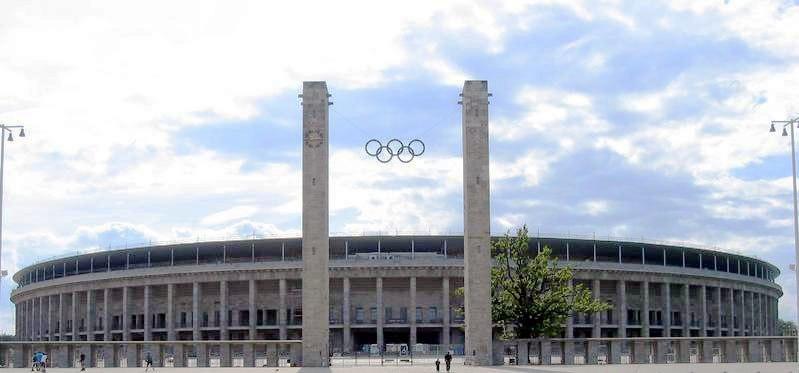 Berlin Olympiastadion aussen