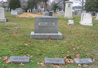 Rock Creek Cemetery - Gravesite of Emile Berliner and family members