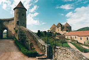 Hugues IV de Berzé - The castle at Berzé-le-Châtel, where Hugues lived and ruled.