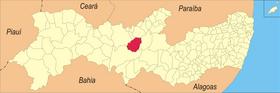 Localização de Betânia