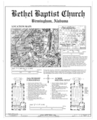 Bethel Baptist Church, 3233 Twenty-ninth Avenue, North, Birmingham, Jefferson County, AL HABS ALA,37-BIRM,26- (sheet 1 of 3).png