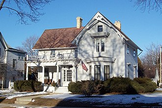 Bay View, Milwaukee - Home of Beulah Brinton, an early community figure